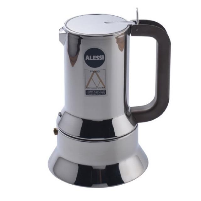 ALESSI-9090不鏽鋼摩卡壺咖啡壺6人份