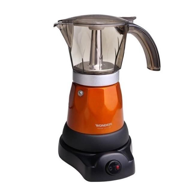WONDER-義式濃縮咖啡電熱式摩卡壺WH-L06M