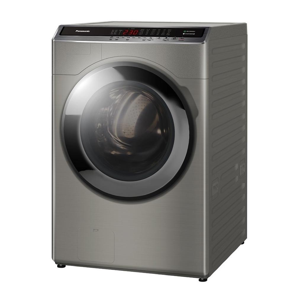國際牌 - 16公斤雙科技溫水洗脫烘滾筒洗衣機-炫亮銀(NA-V160HDH-S)