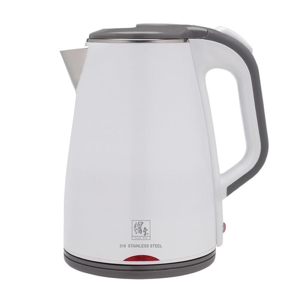 CookPower 鍋寶 - 雙層防燙保溫快煮壺-1.8L-白KT-90181W