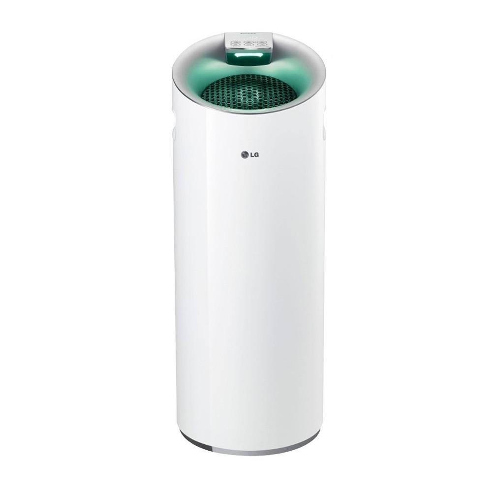 LG樂金 - 圓柱型空氣清淨機:超淨化大白(AS401WWF1)