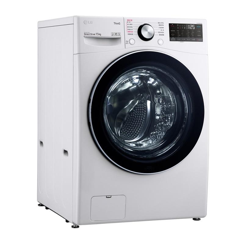 LG-滾筒洗衣機(蒸洗脫):冰磁白