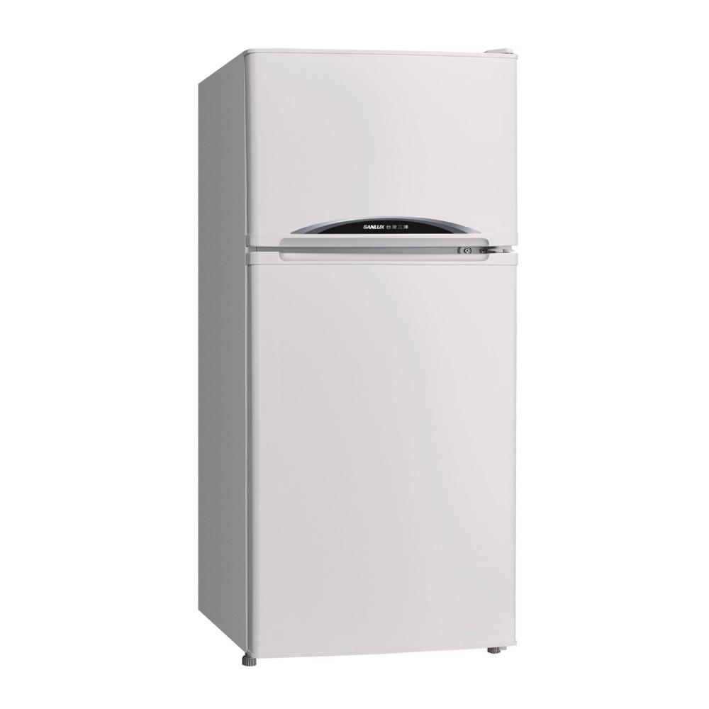 SANLUX-台灣128L一級雙門冰箱定頻冰箱SR-C128B1