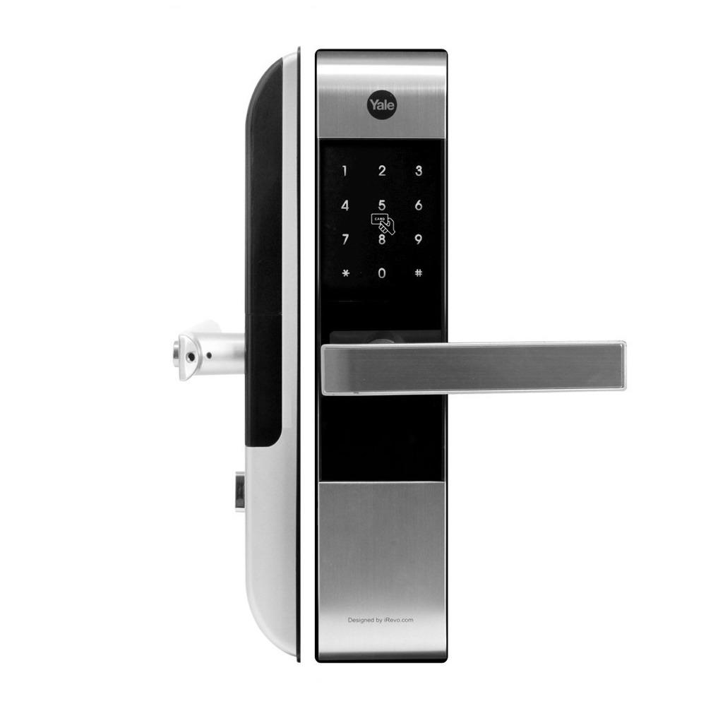 Yale-YDM-3109熱感應觸鑰匙智能電子門鎖