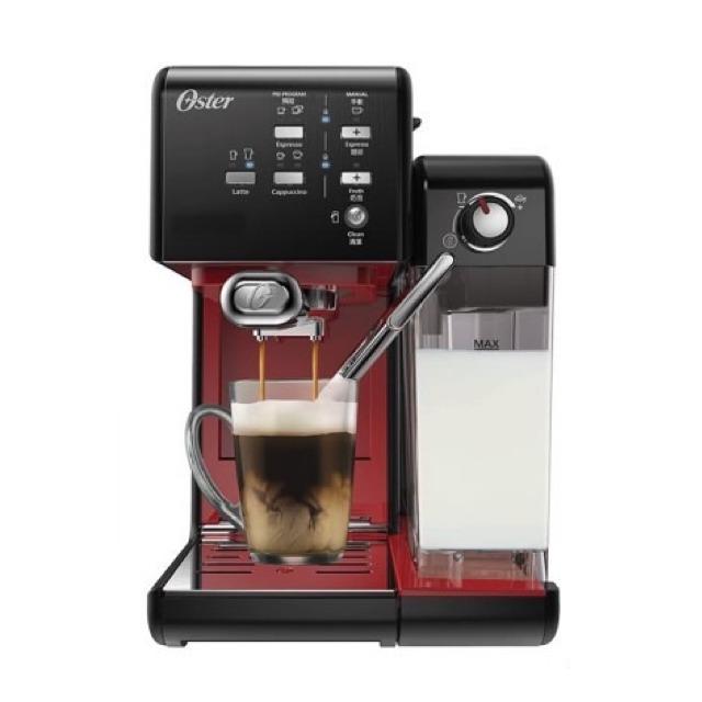 Oster-5+隨享義式咖啡機搖滾黑義式膠囊兩用