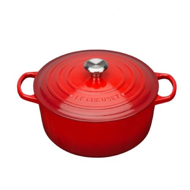 Le-Creuset-琺瑯鑄鐵典藏圓鍋