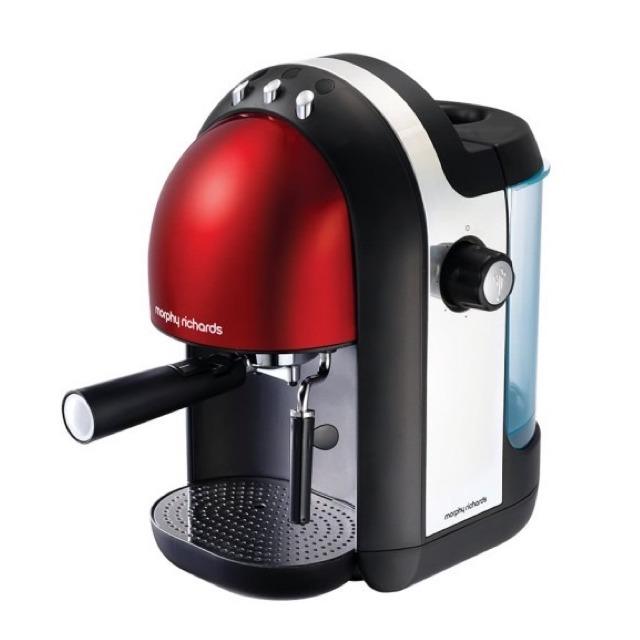 Morphy Richards-Meno Espresso義式濃縮咖啡機魅力紅