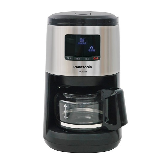 Panasonic-4人份全自動研磨咖啡機NC-R601