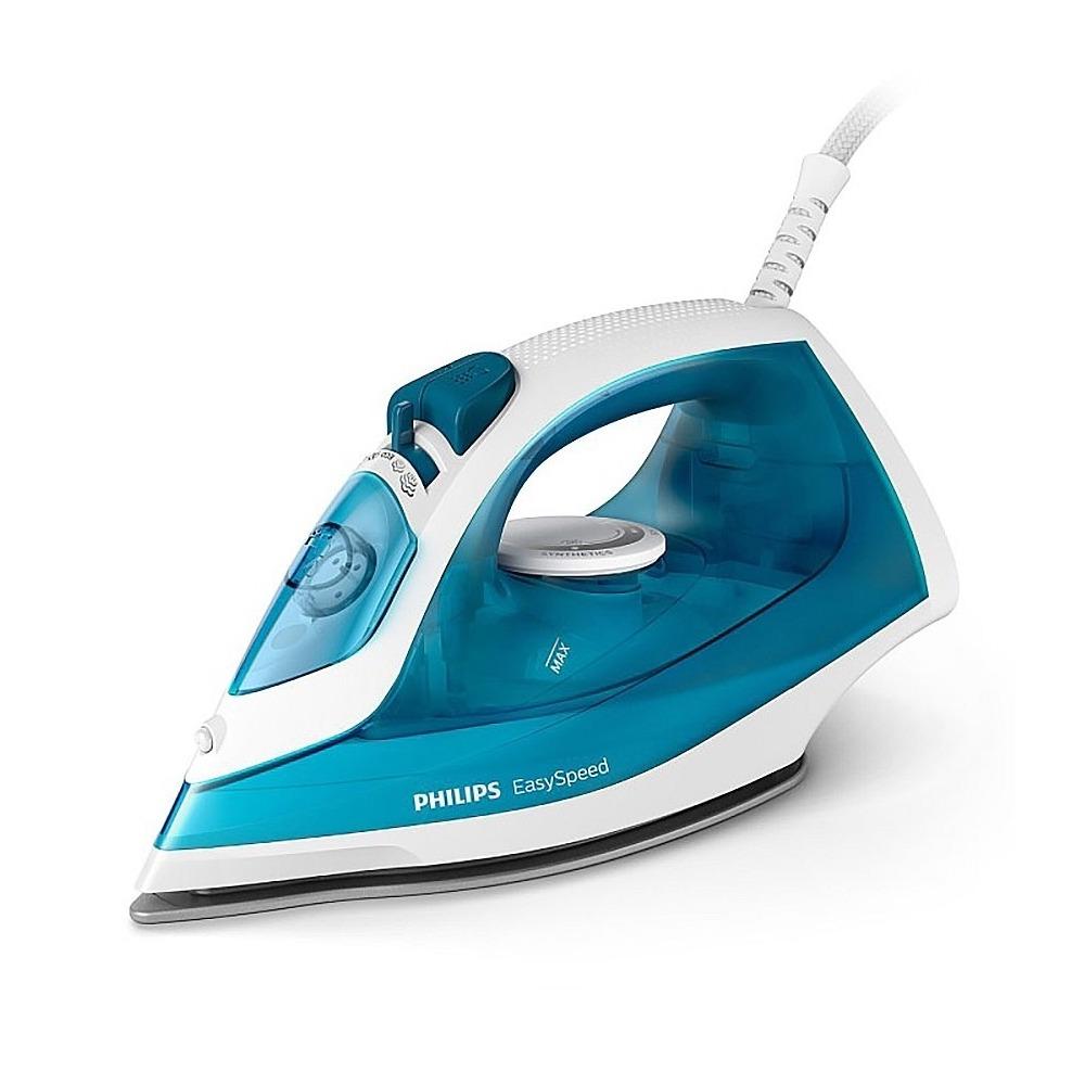 Philips-蒸氣電熨斗藍白色GC1745