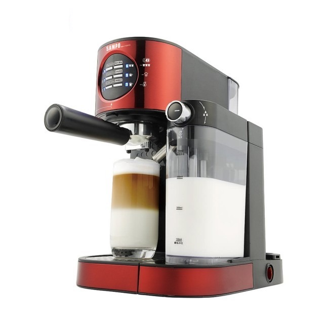 SAMPO-義式濃縮奶泡咖啡機HM-L17201CL