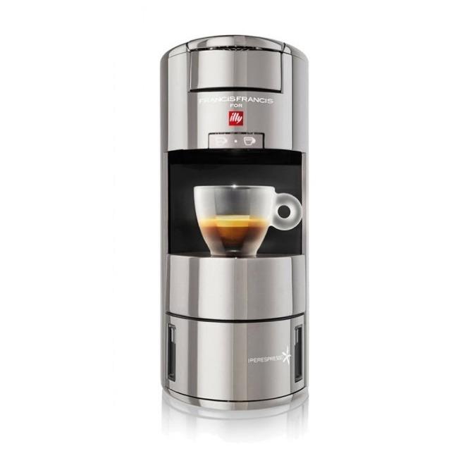 illy-Iperespresso 膠囊咖啡機X9 Cromo