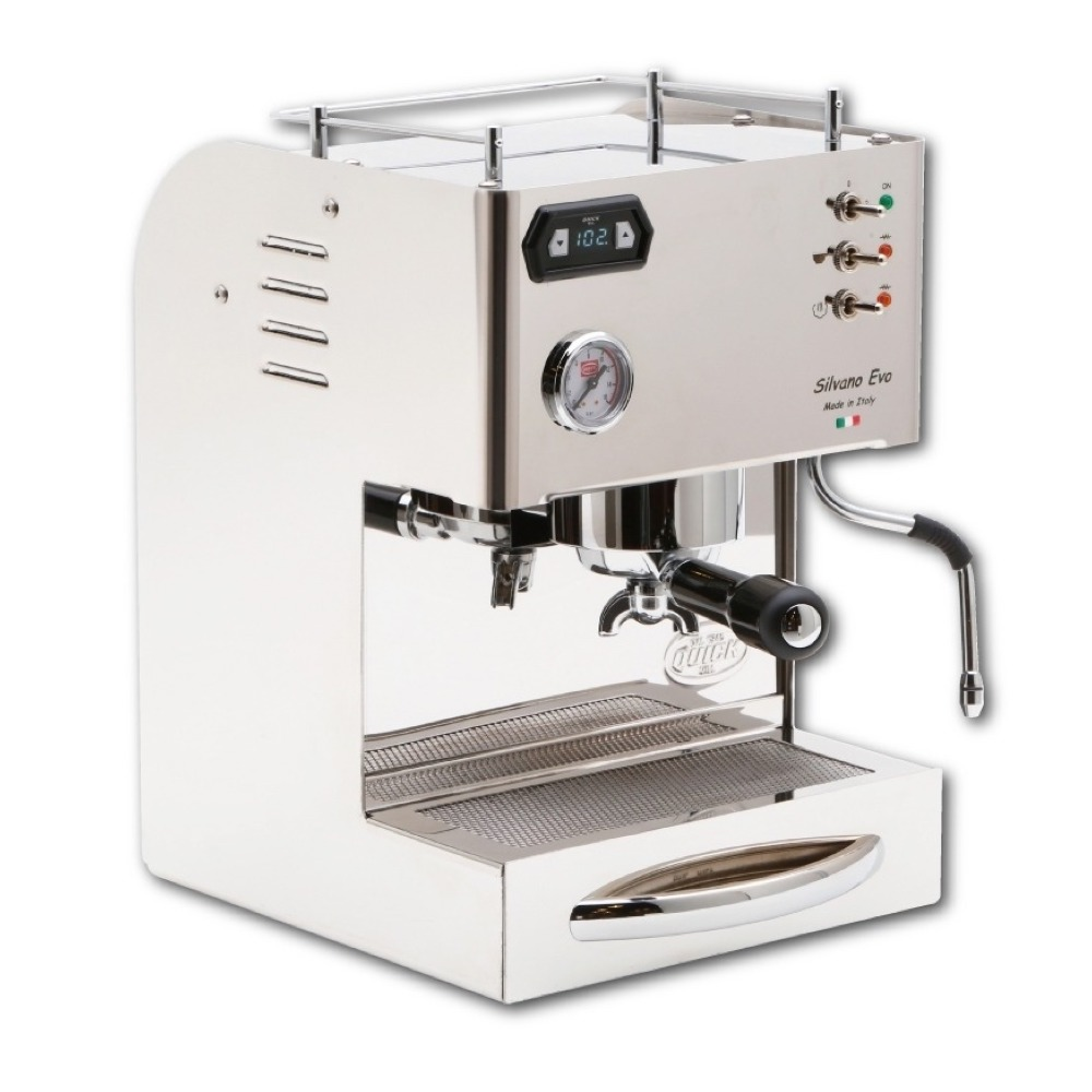 QUICK MILL-SILVANO EVO喜華諾半自動雙鍋爐咖啡機