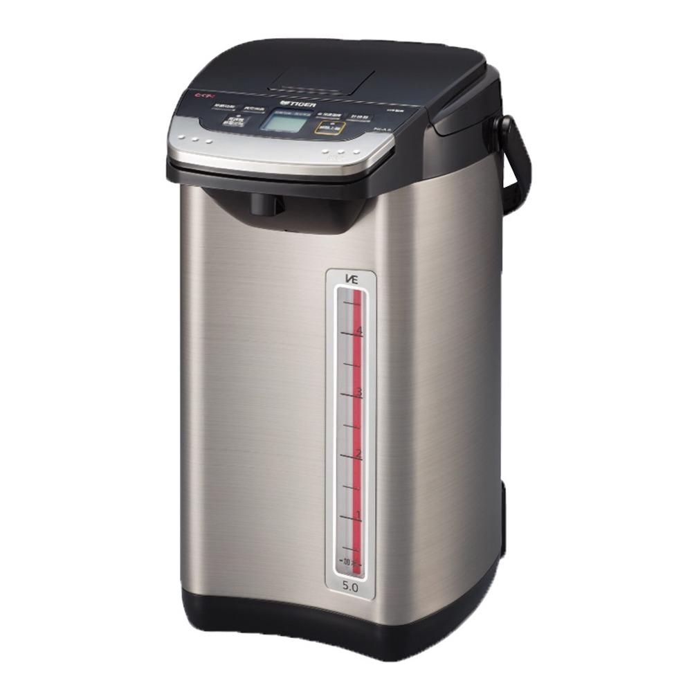 TIGER-無蒸氣VE節能省電5.0L真空熱水瓶PIE-A50R