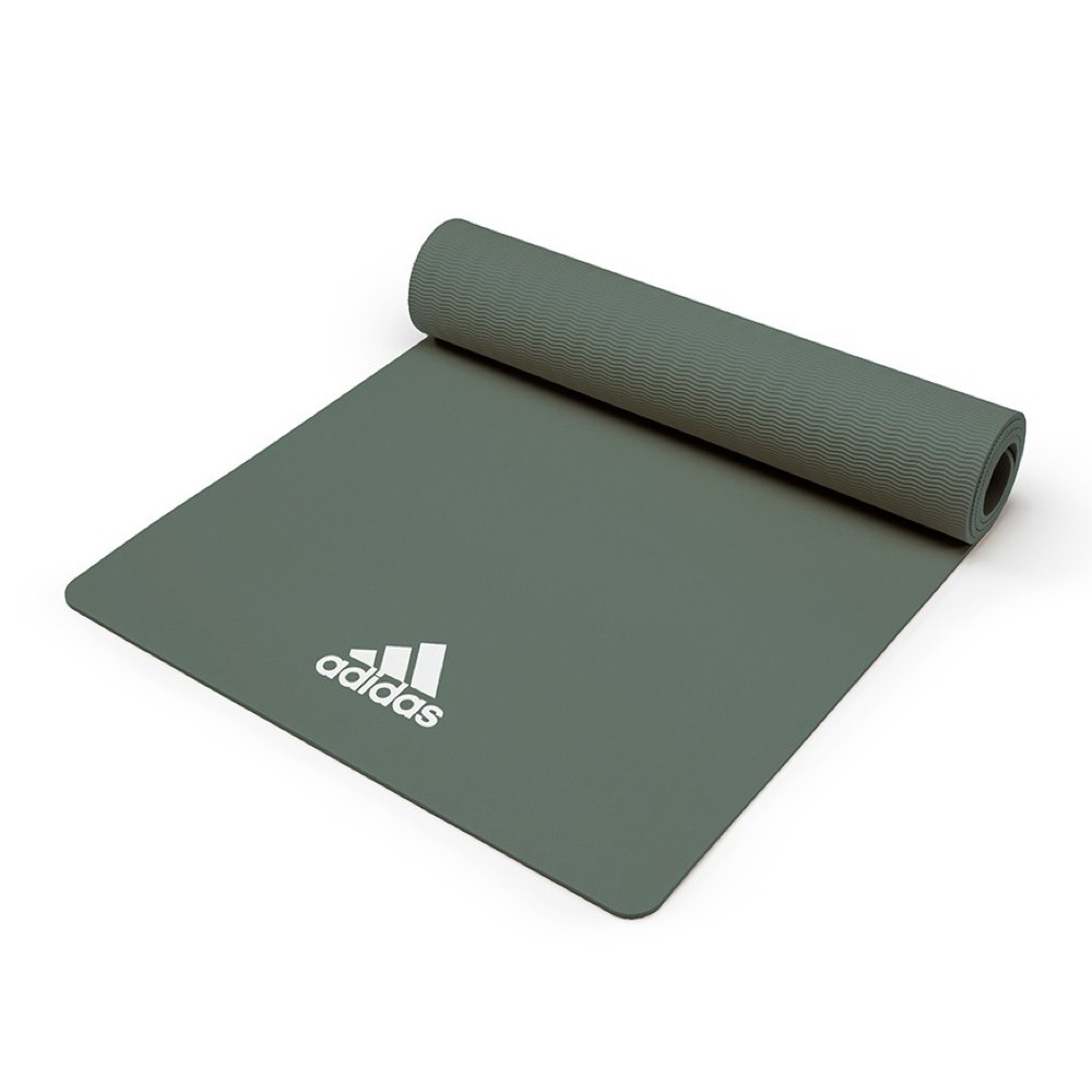 adidas-Yoga 輕量波紋瑜珈墊8mm