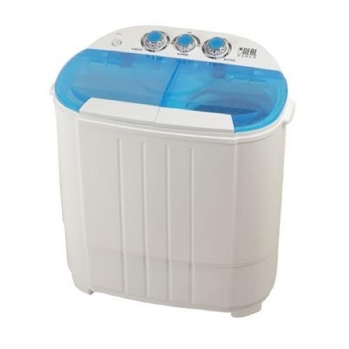 IDEAL-3.5kg-雙槽-迷你洗衣機-寶貝機湖水藍