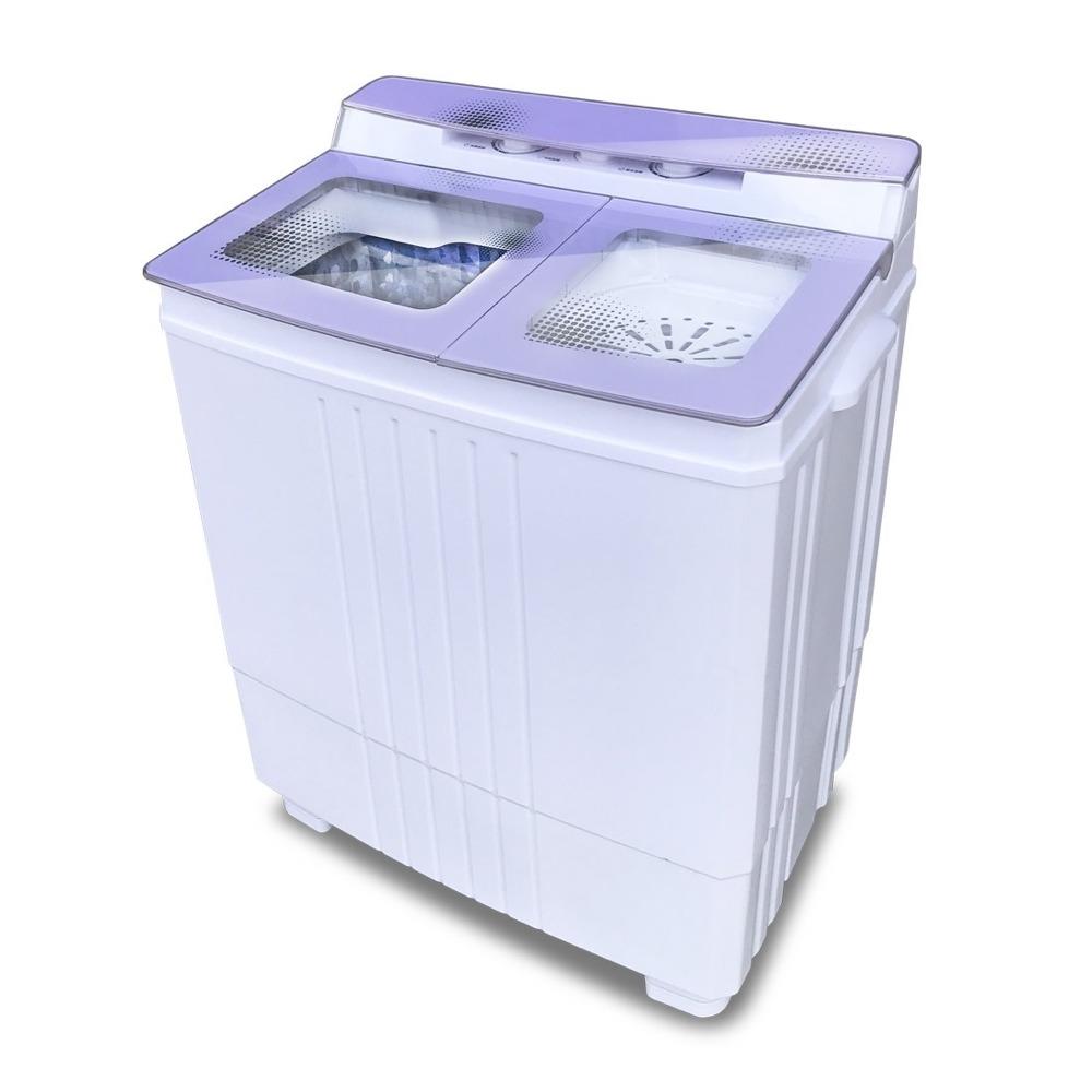 ZANWA-不銹鋼洗脫雙槽洗衣機ZW-480T