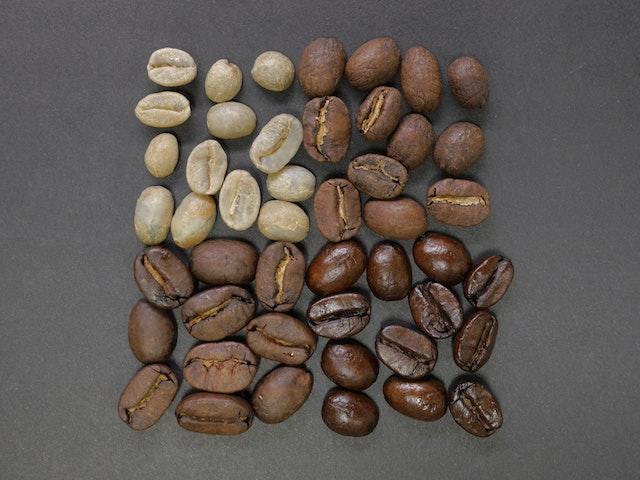 咖啡豆烘培程度