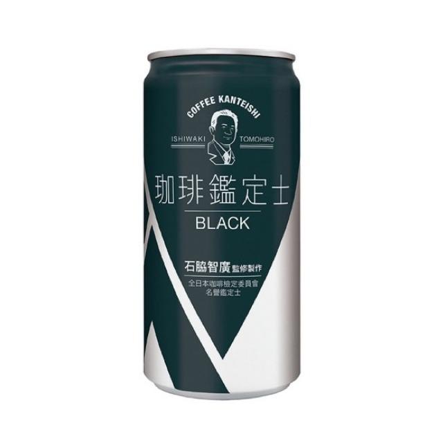 珈琲鑑定士-黑咖啡185ml