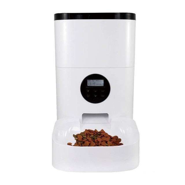 FReLINE-自動寵物餵食器FP-4L01白色