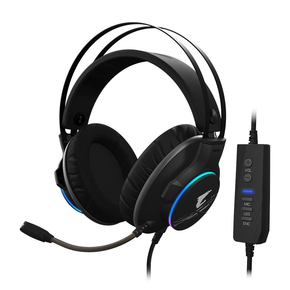 GIGABYTE-AORUS H1電競RGB炫彩耳機