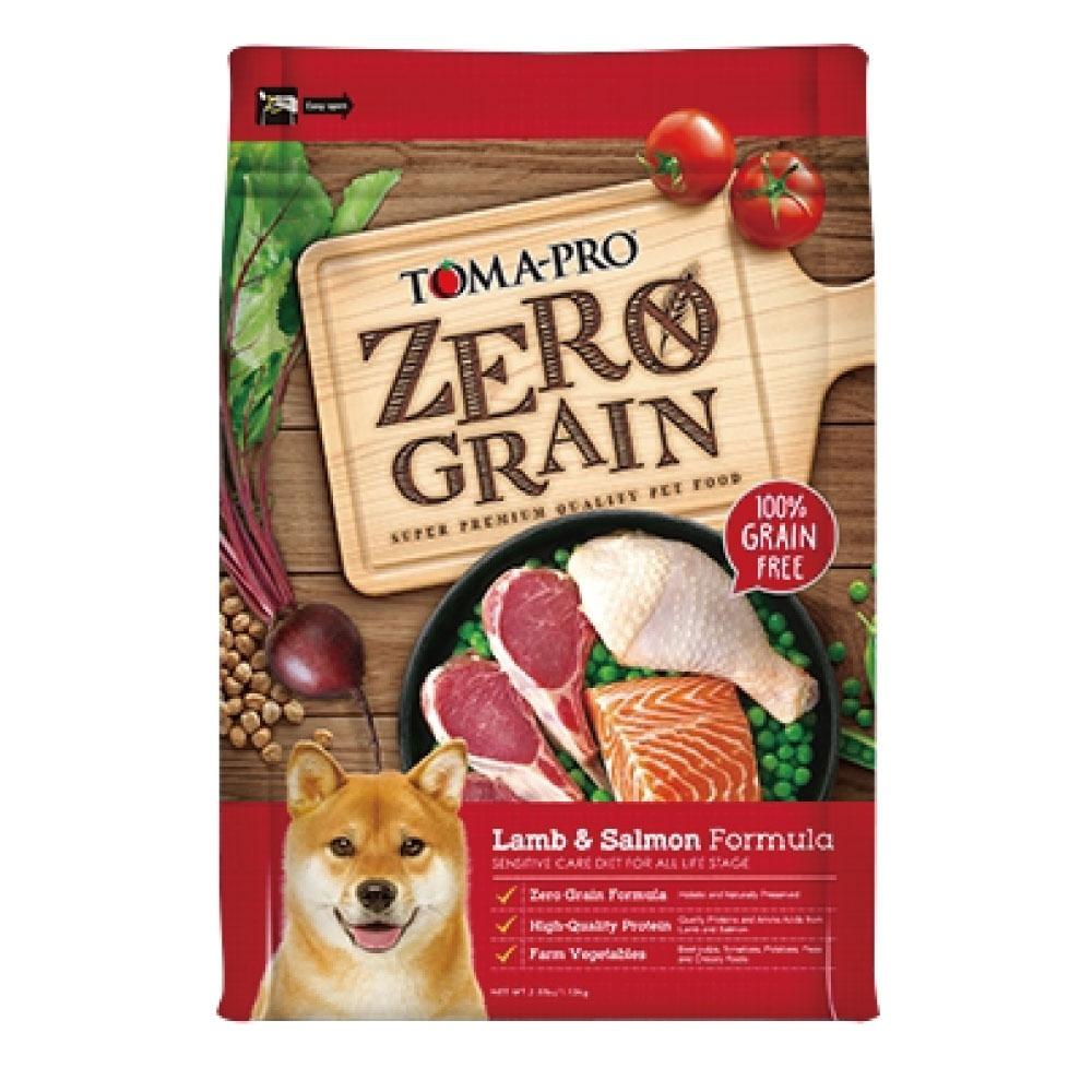 TOMA-PRO-零穀系列-羊肉+鮭魚全齡犬飼料